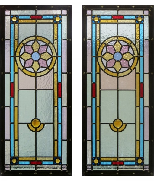 Detailed Traditional Stained Glass Panels
