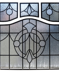 1930s Art Deco Stained Glass Panels