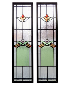 Art Deco Stained Glass Panels