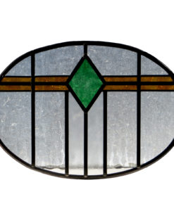 Art Deco Stained Glass 1930s Panel
