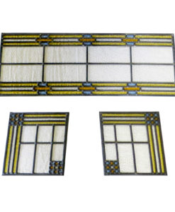 Traditional Contemporary Stained Glass Panels