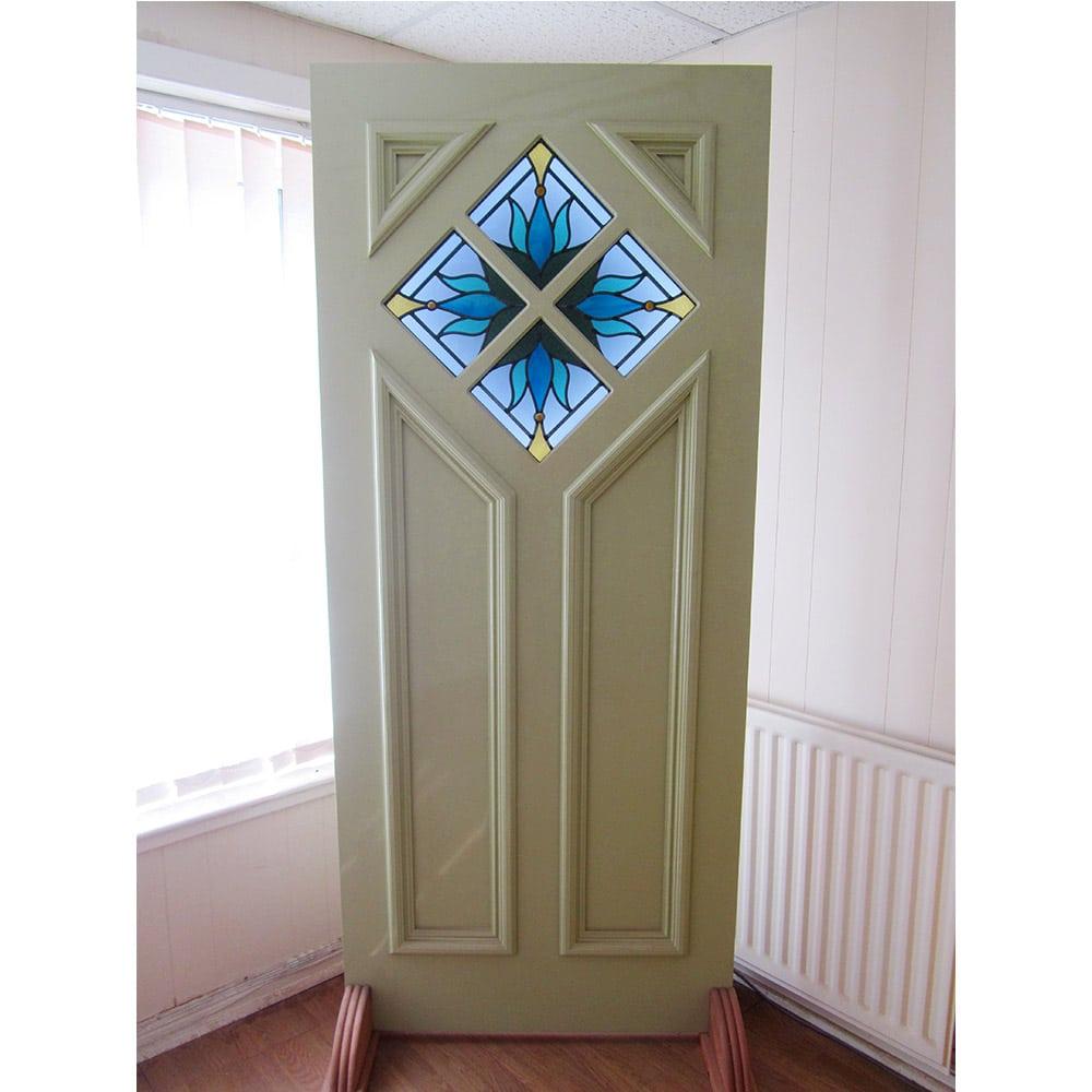 Bespoke 1930s Art Deco Door For Sale Hardwood Period