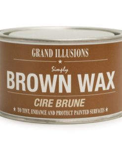 Brown Wax Cire Brune