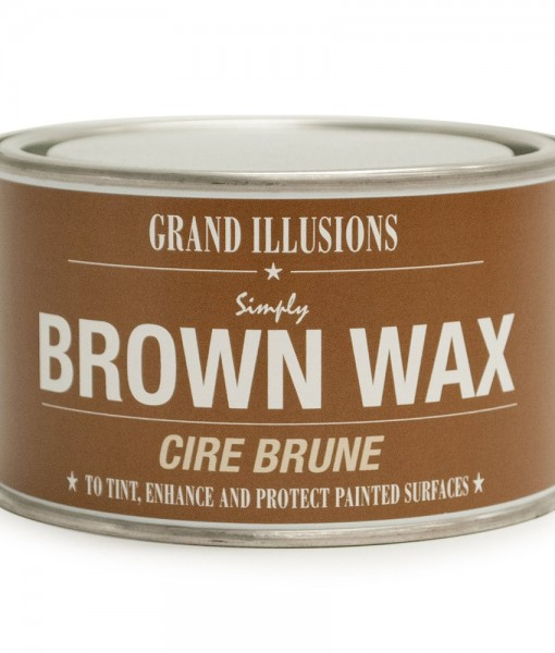 Brown Wax Cire Brune