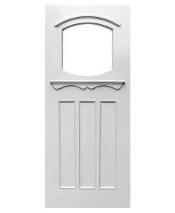 Barrel Arched 1930s Door