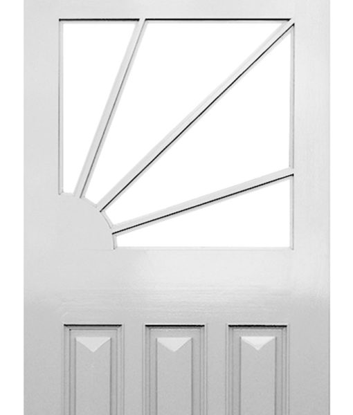 12 - Sunburst Art Deco Door (The Sunrise)