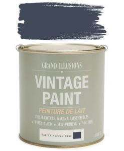 Nordic Blue Paint Colour