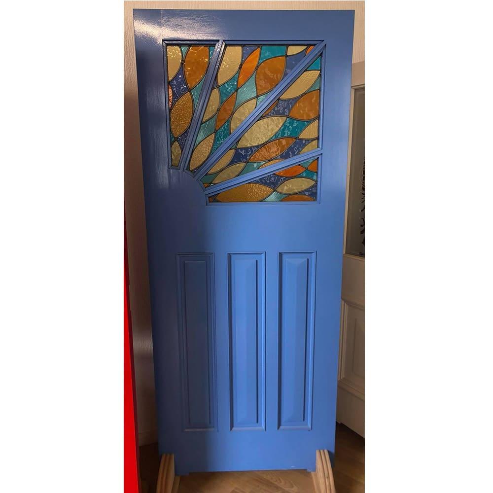 Sunburst Art Deco Door (The Sunrise)