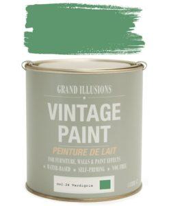 Verdigris Paint Colour