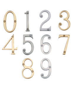 Thin Door Numerals