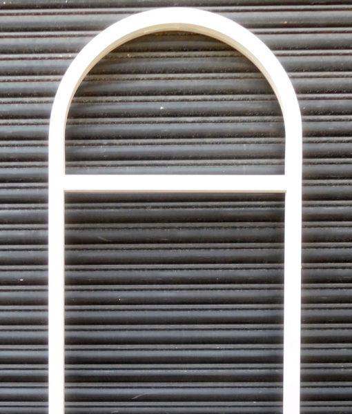 Standard Exterior Door Frame With Fanlight