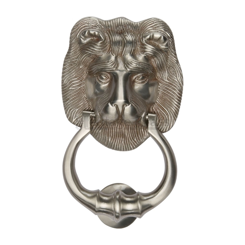 Lion Door Knocker Multiple Finishes Available Period