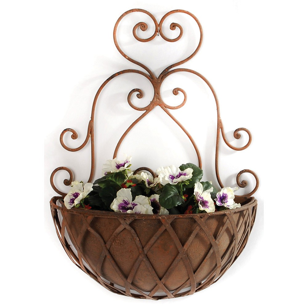 Half Round Wall Planter Buy From Period Home Style