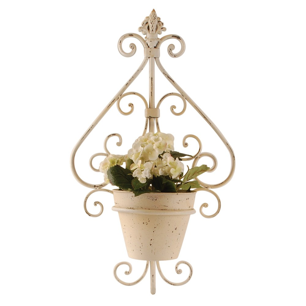 fleur d lys planter pot buy from period home style. Black Bedroom Furniture Sets. Home Design Ideas