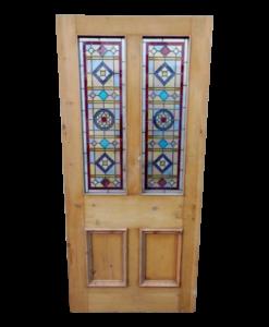 Restored Front Doors