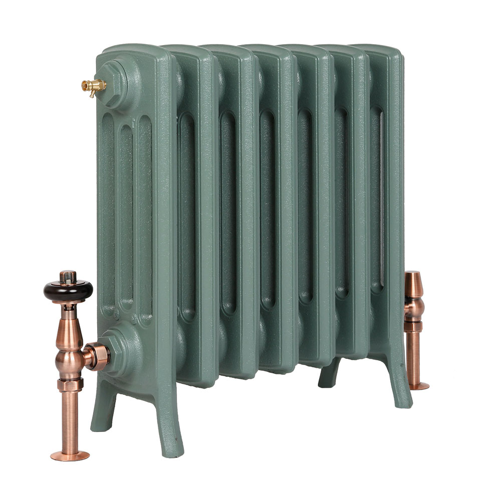 Grace cast iron radiator 480mm period home style for Household radiator design