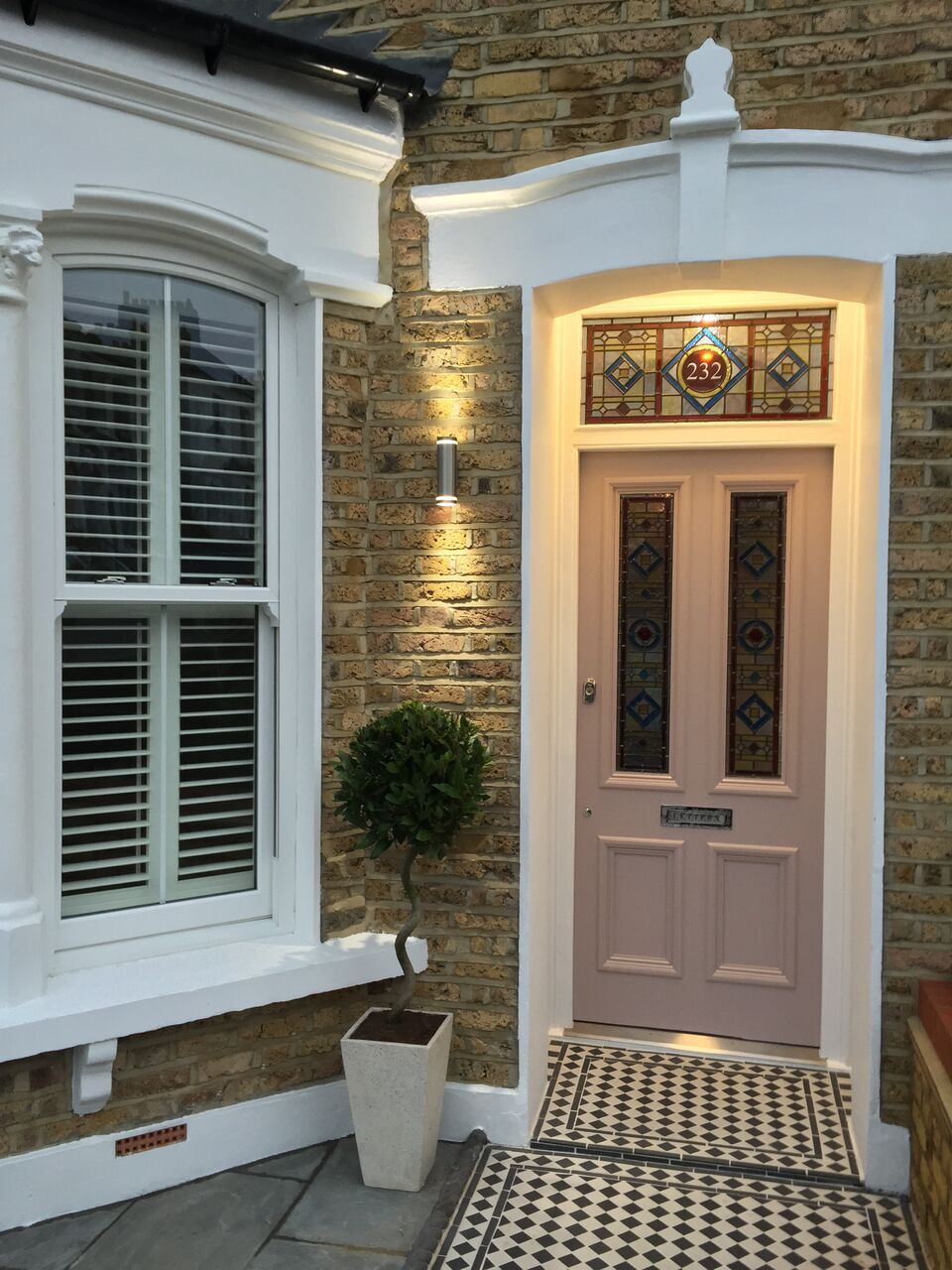 Traditional four panel door buy from period home style for Order front door
