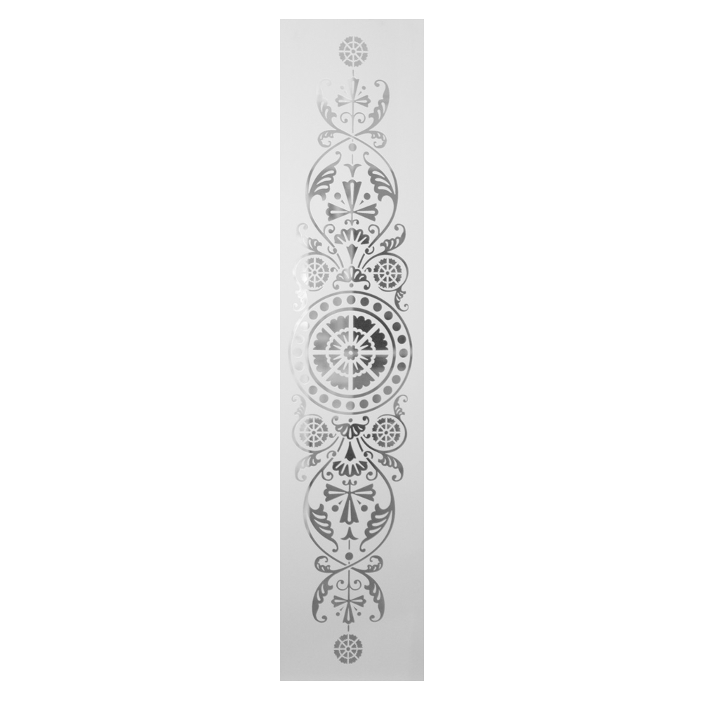 Victorian Etched Glass Door Panel For Sale Period Home Style