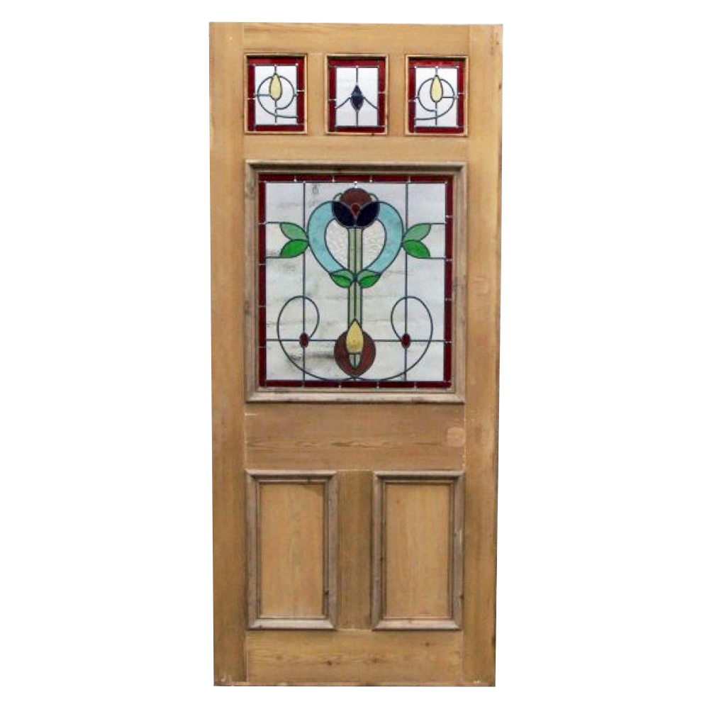 The Jersey Stained Glass Door Buy From Period Home Style