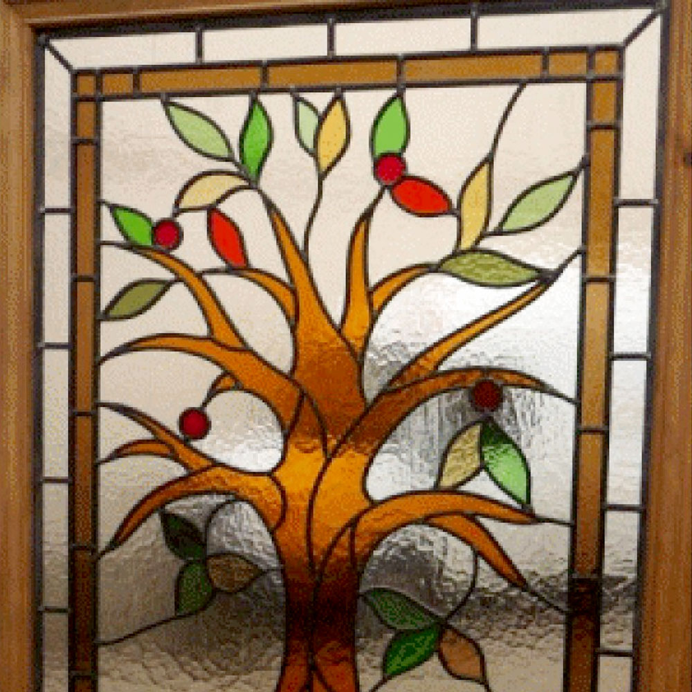 Tree Of Life Stained Glass Door From Period Home Style
