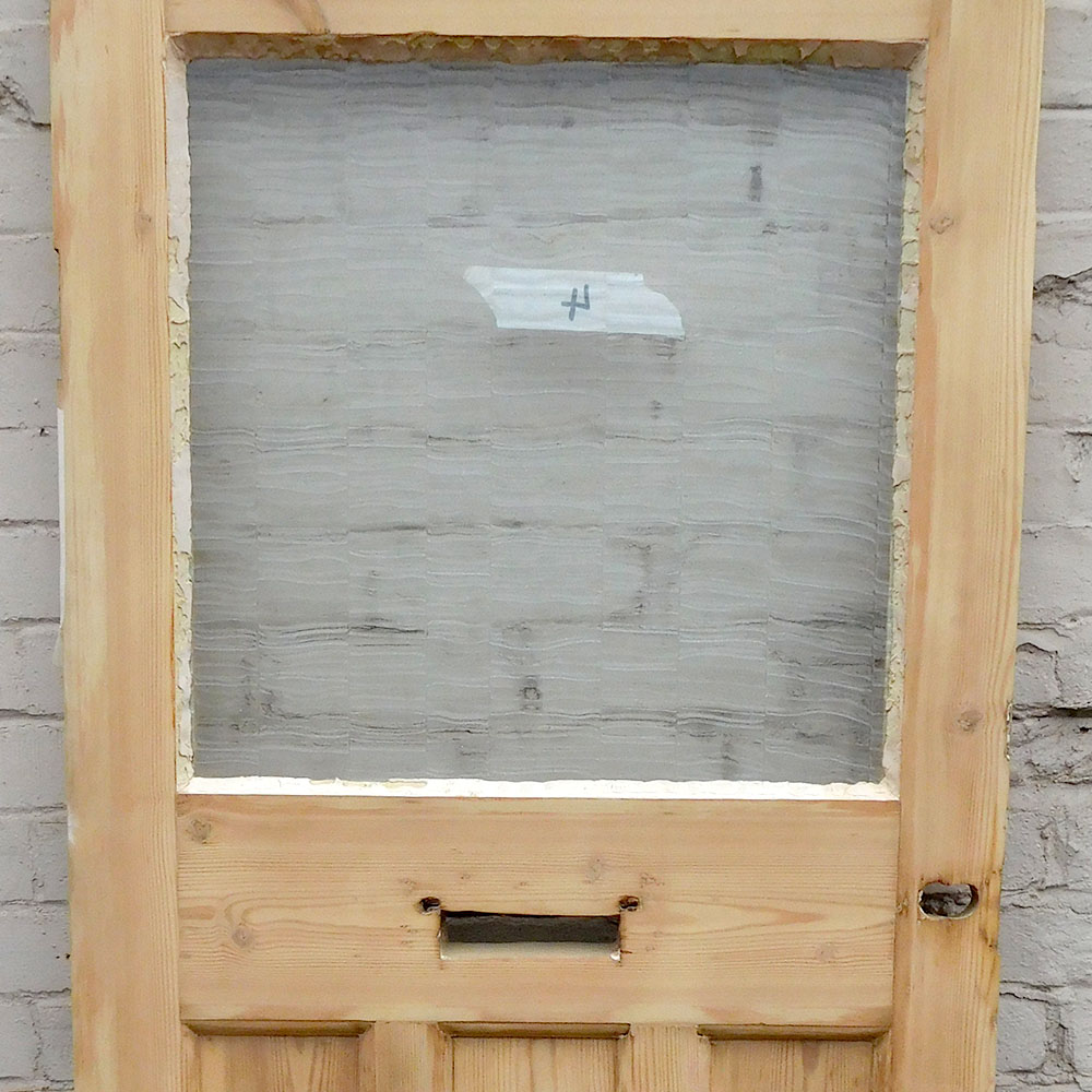 Antique pine glass door buy from period home style for Old glass doors