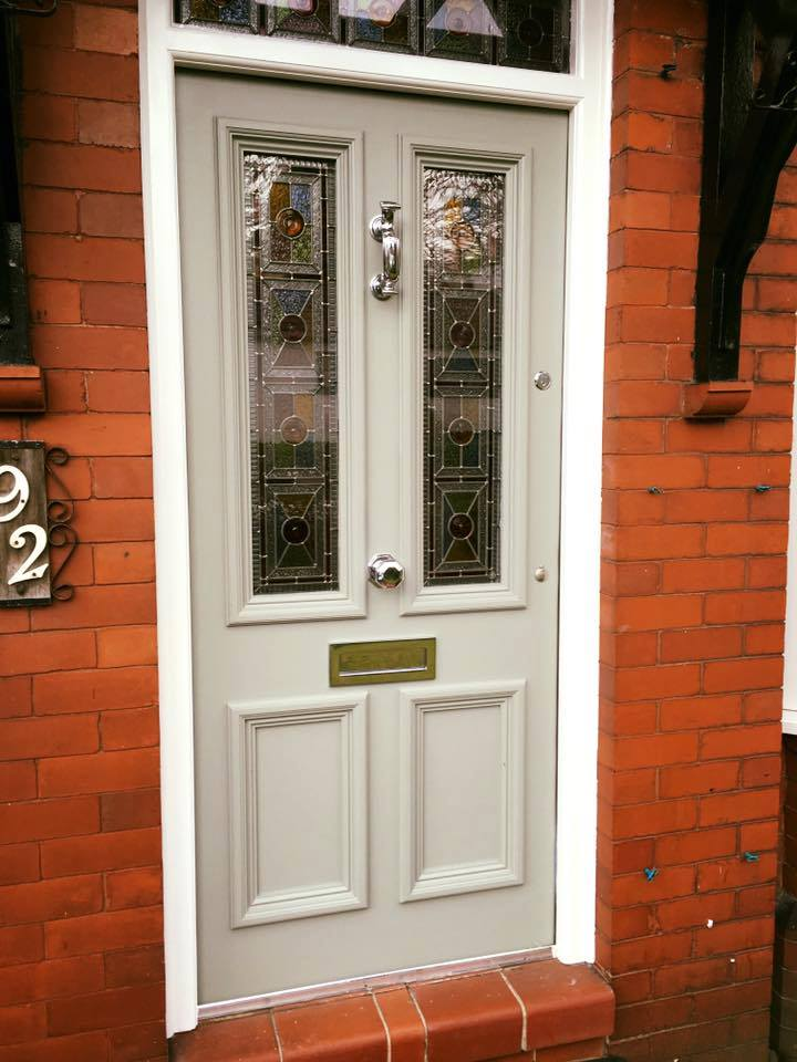 Bespoke Traditional Hardwood Four Panel Door Period Home