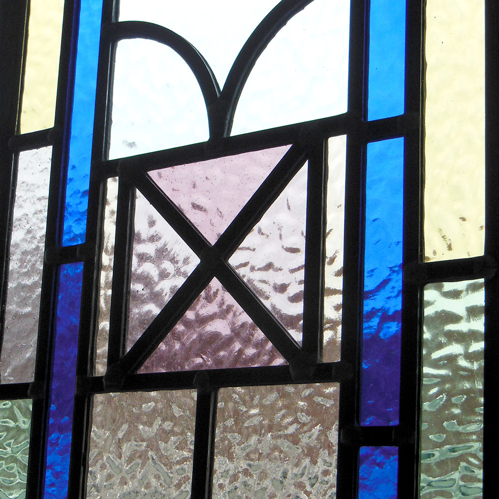 Victorian Kyle Stained Glass Panels From Period Home Style