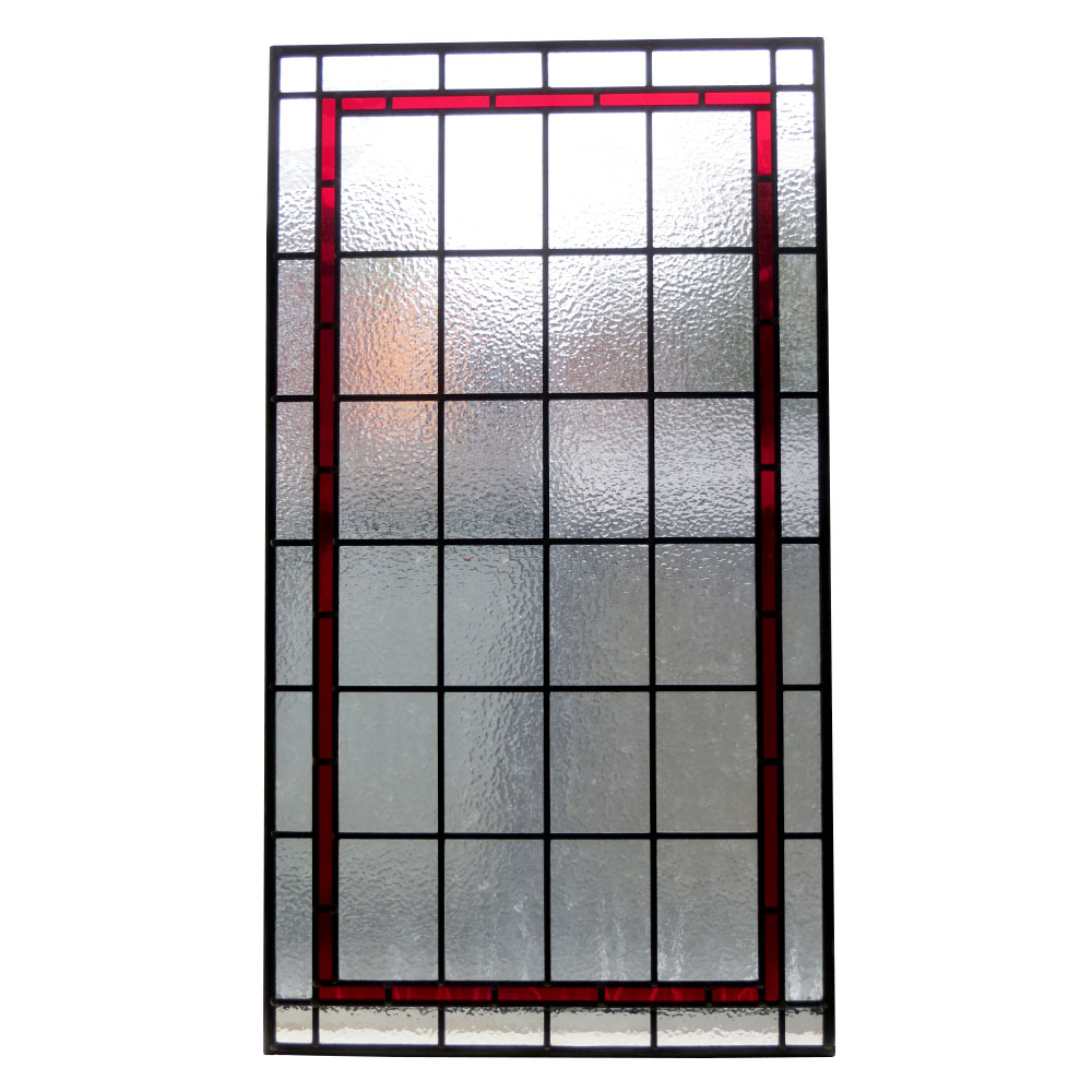 Contemporary Stained Glass Panels From Period Home Style