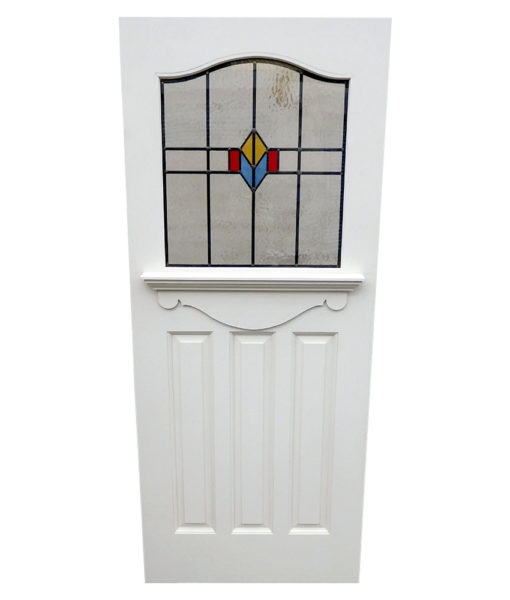 New 1930s Stained Glass Door