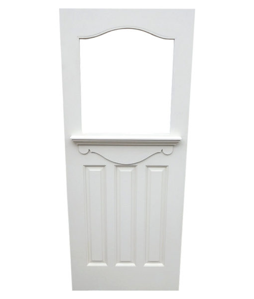 Traditional Arched 1930s Door