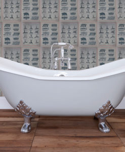Banburgh Cast Iron Bath