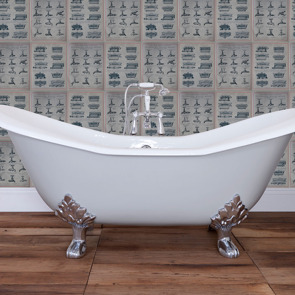 Banburgh Cast Iron Bath - From Period Home Style