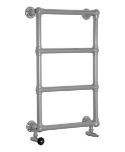Bassingham Steel Towel Rail Chrome Finish