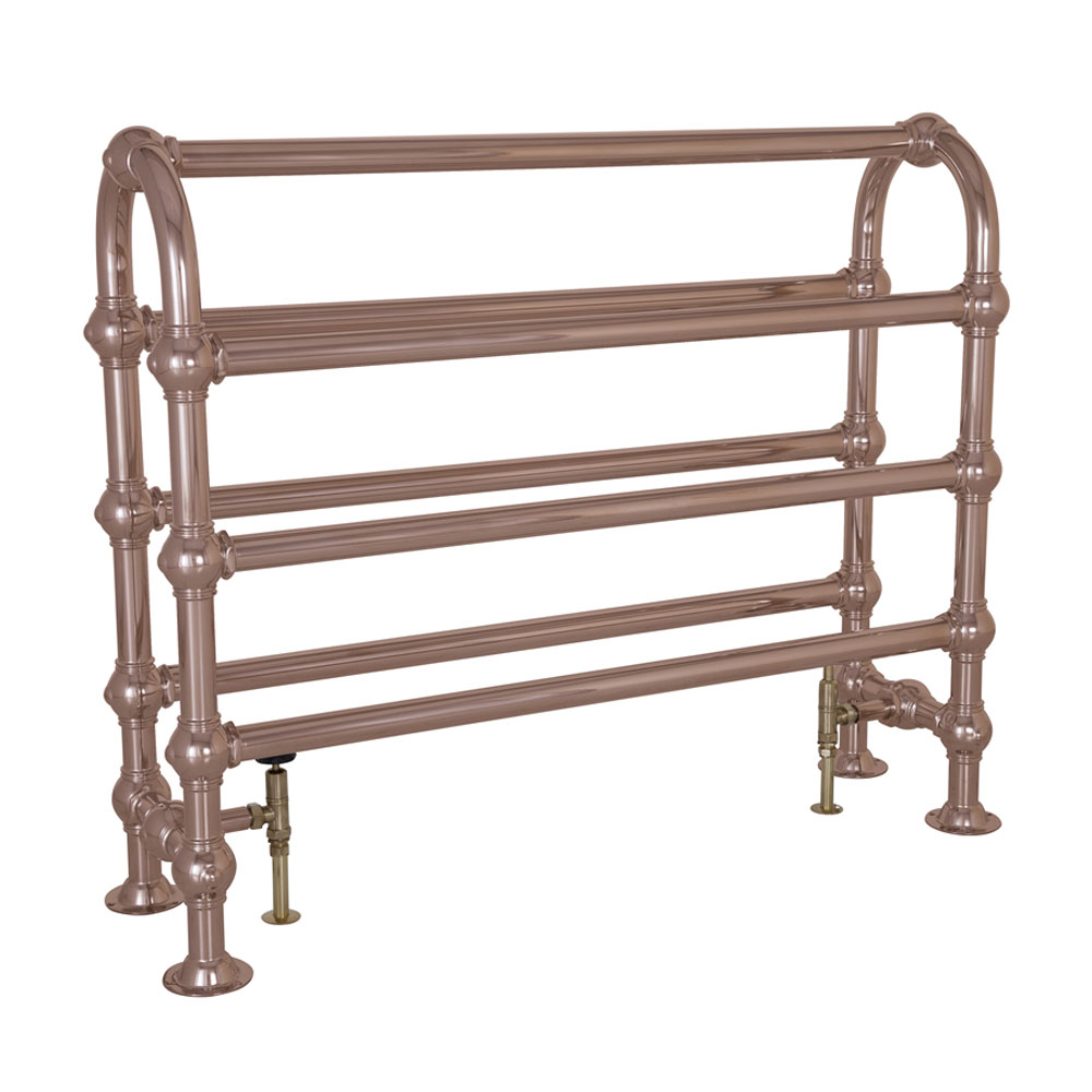 Colossus Horse Steel Towel Rail Copper Finish