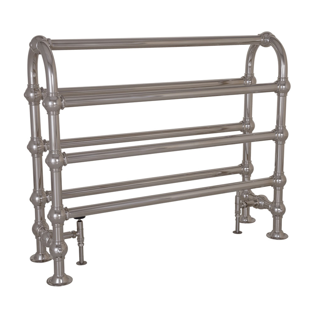 Colossus Horse Steel Towel Rail Nickel Finish