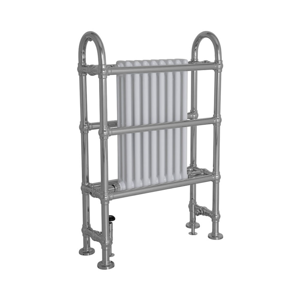 Horse Steel Towel Rail Chrome Finish