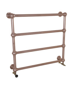 Large Colossus Steel Wall Mounted Towel Rail Copper Finish