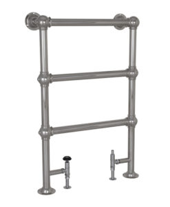 Small Colossus Steel Towel Rail Chrome Finish