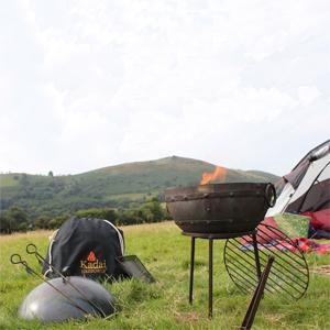 Travel Kadai Firebowl Barbecue (45cm)