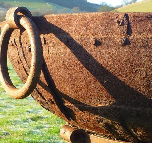 Original Kadai Fire Bowl With Tudor Stand