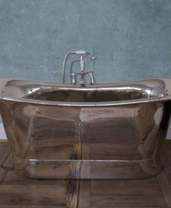 Normandy Copper Bath With Nickel Finish