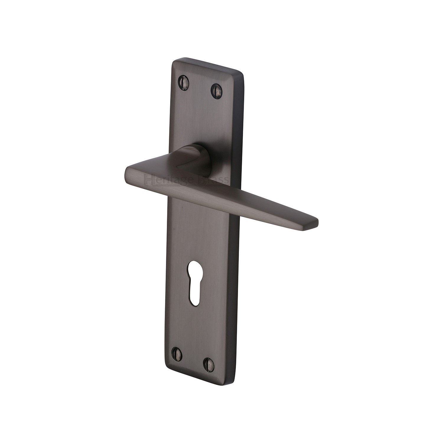 Kendal Door Handle Lock Latch Bath Euro Period Home Style
