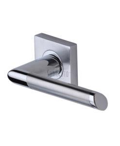 Mercury Door Handle On Square Rose