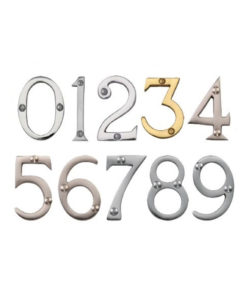 Face Fixed Door Numerals