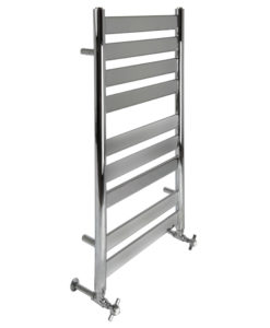 Small Sky Chrome Wall Mounted Towel Rail