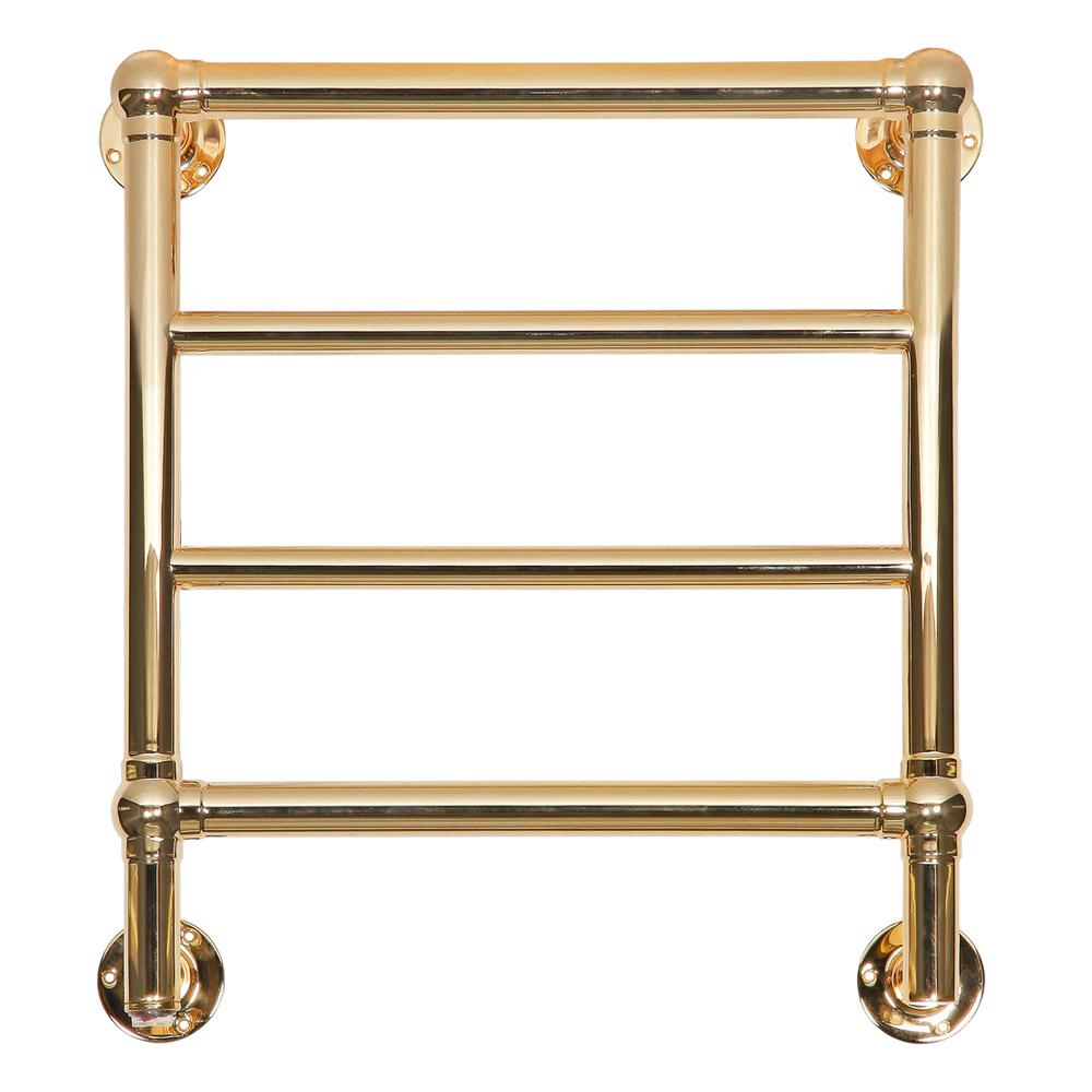 Kora Polished Brass Towel Radiator For Sale Period Home Style