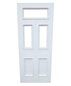 Victorian Fanlight Door (5 Panels) (Hardwood)