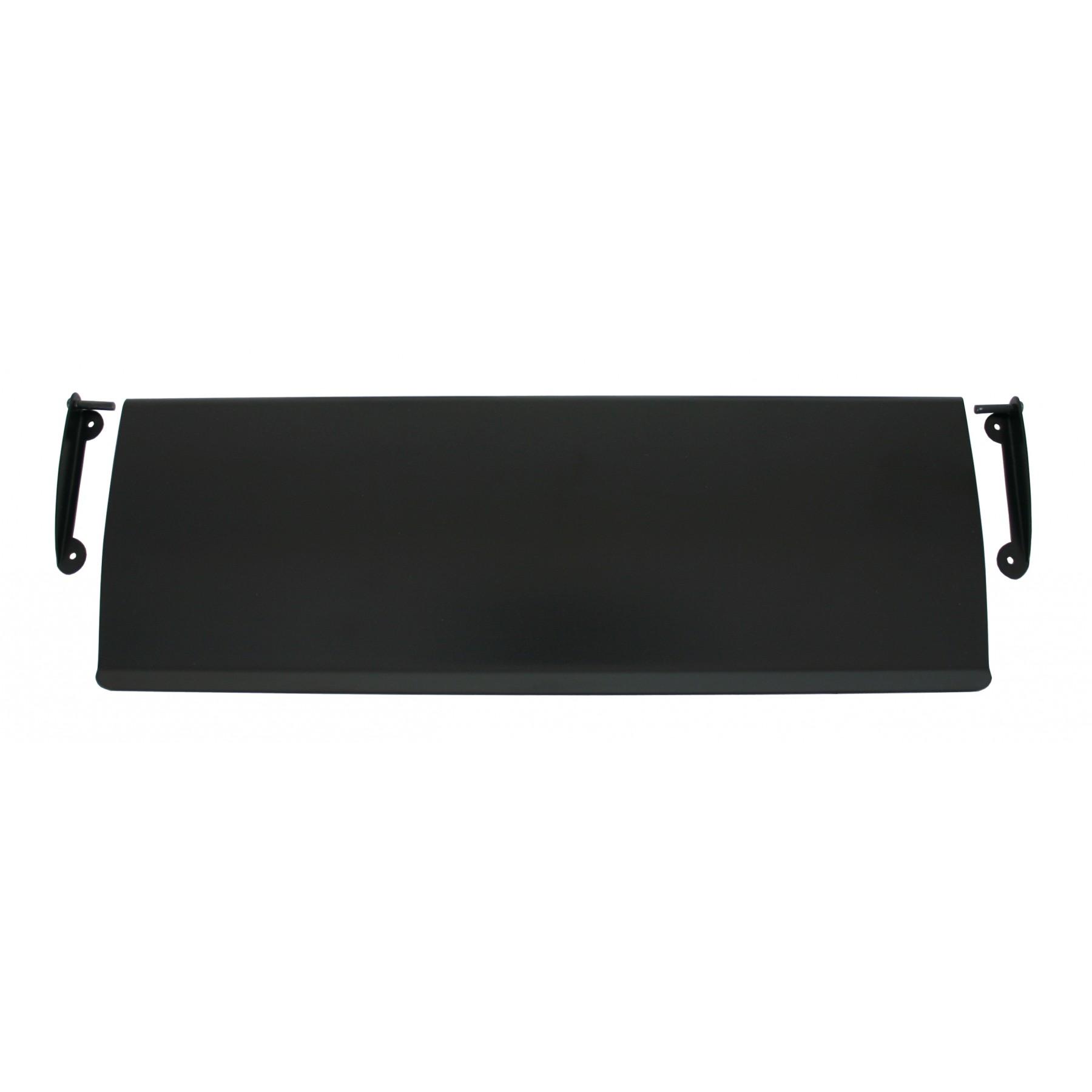 Black Letter Plate Cover