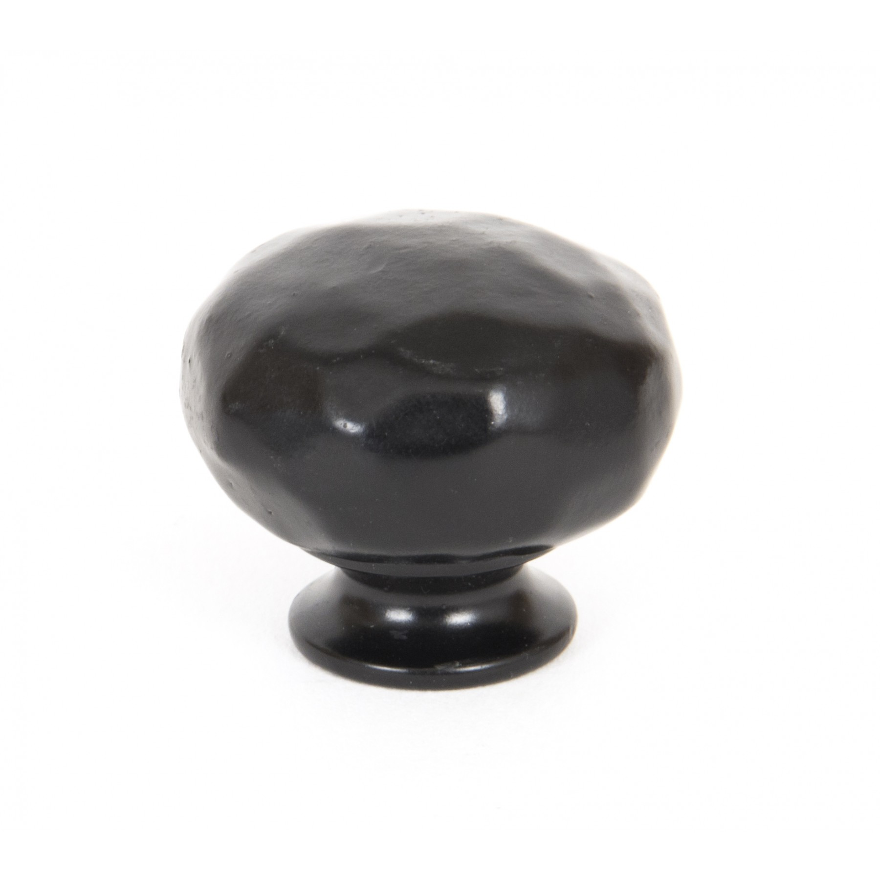 Black Hammered Cabinet Knob Small From Period Home Style