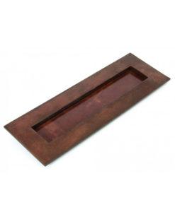 Bronze Letter Plate